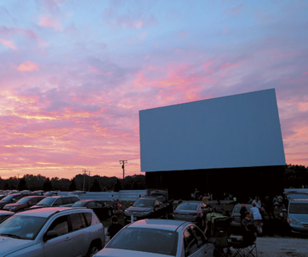Date Of The Month: Midway Twin Drive-In Is A Night With The Stars