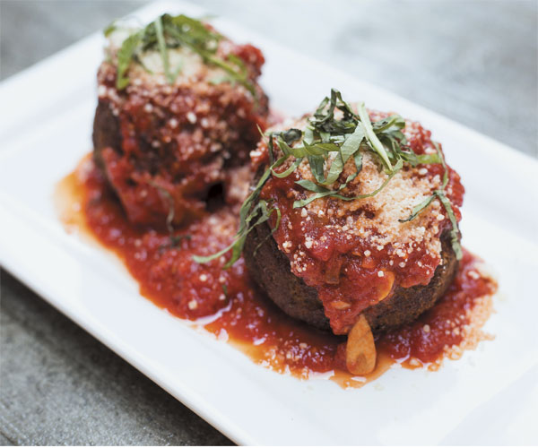 Deep-fried meatballs