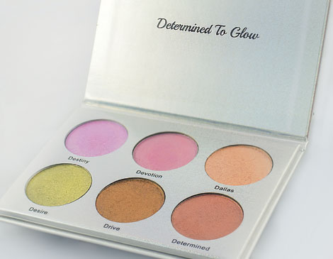 Determined To Glow Highlighter Palette