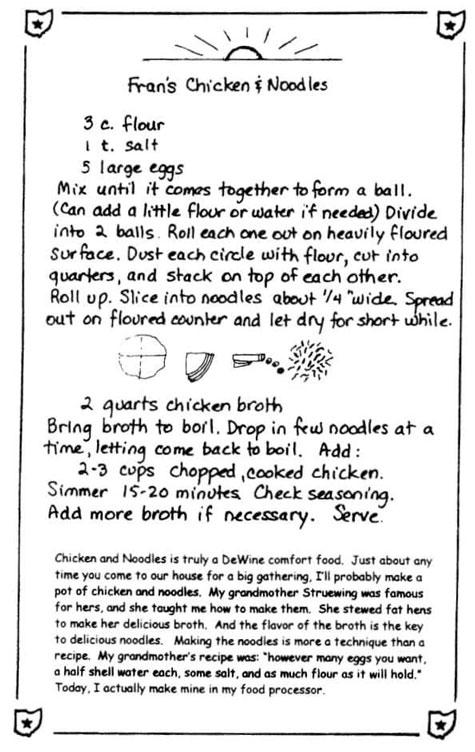 Fran DeWine's Recipe