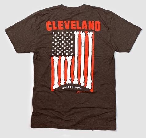 GV Art & Design Football Flag T-Shirt