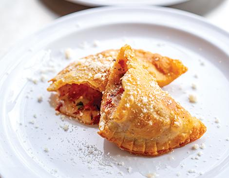 Half Moon Bakery's Empanadas