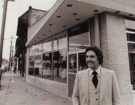 In fall 1977, Dimora, age 22, launched two ventures: He opened a furniture store on Cleveland's East Side and ran for Bedford Heights City Council.