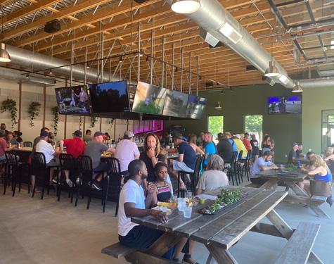 Indoor Bar at Lakewood Truck Park