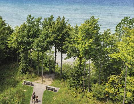 Lake Erie Bluffs