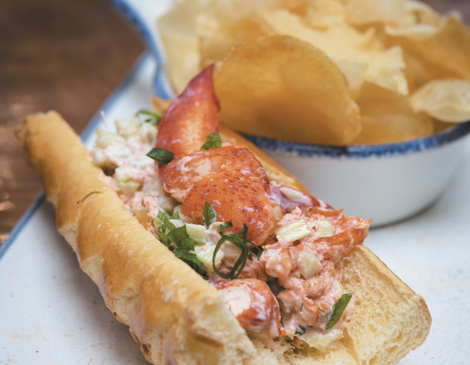 Lobster Roll, Lindy's Lake House