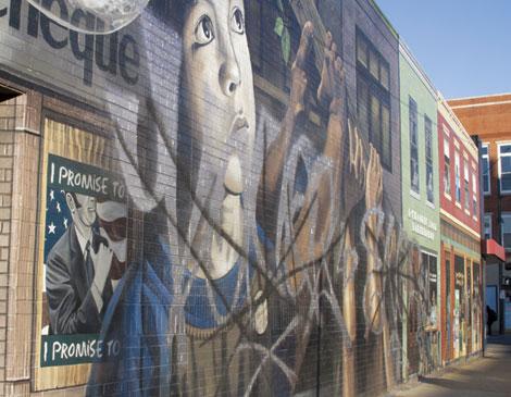 Mural W. 25 & Clark