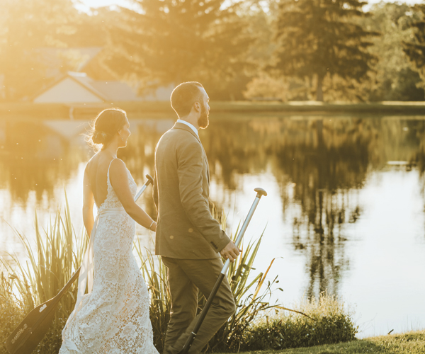 Intricate Details Inspire Intimacy At This Lake Wedding