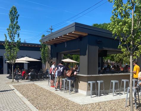 Outdoor Bar At Lakewood Truck Park