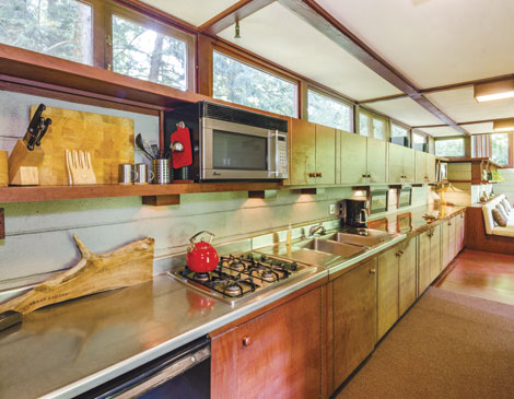 Penfield House — Kitchen