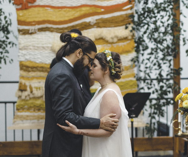 This Cleveland Heights Wedding Blends Indian And Western Traditions
