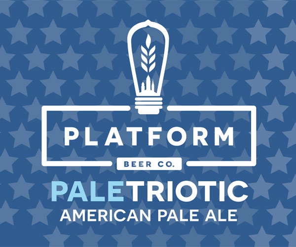 Platform Beer Co.'s  Paletriotic Beer