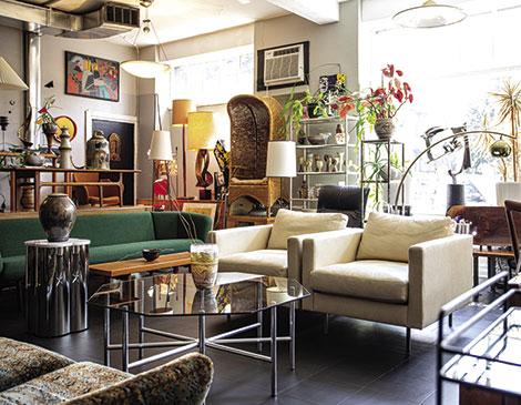 Local Rook Modern Curates Vintage, Vintage Modern Furniture Cleveland