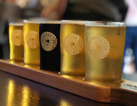 Southern Tier Beer Flight