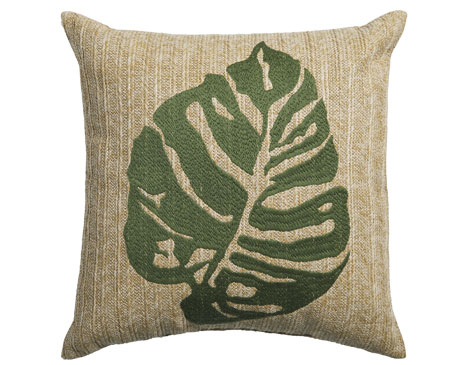 Straw Palm Pillow