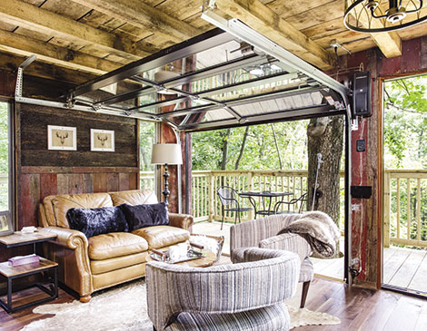 The Mohicans Treehouse Resort features nine designer treehouses tucked into 77 acres of wilderness.