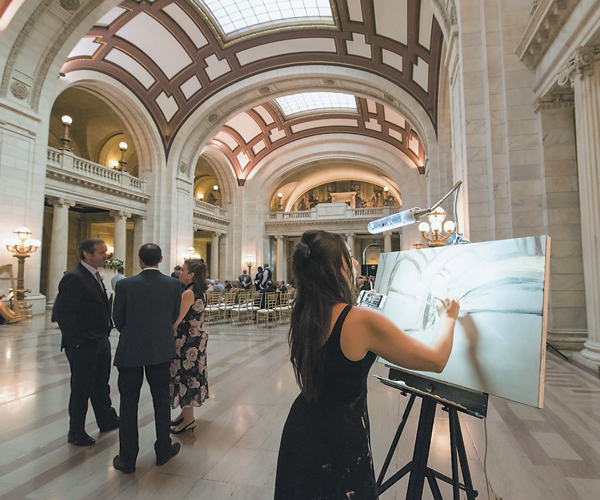 Best Of Cleveland: Live Event Painter