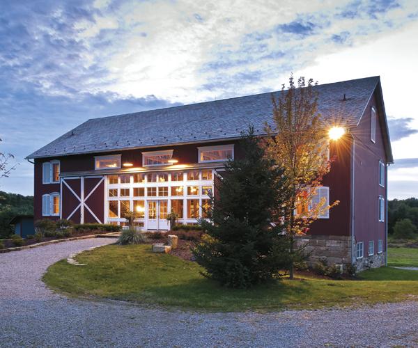 Go Inside A Nelson Township Barn's Modern Makeover
