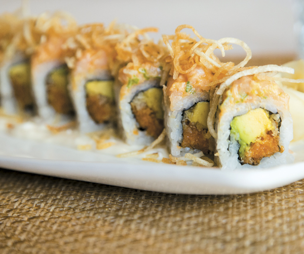 Best Of Cleveland: Fish-n-Chips Sushi Roll