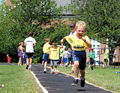 University School's Swim! Bike! Run! camp draws inspiration from triathlons to get kids active and having fun.